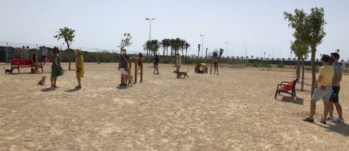 The largest park in the Mar Menor with 36,000 square meters inaugurated in Los Narejos